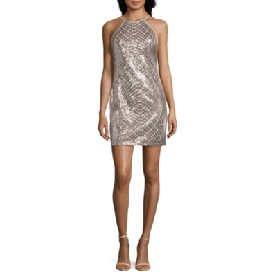 Black Sparkly Formal Winter Dresses for Juniors
