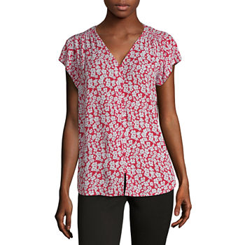 3ce7bab0840 Blouses for Sale | Shop by Color, Neckline & More | JCPenney