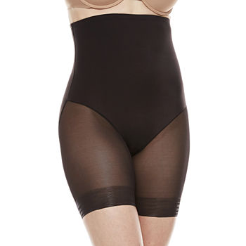 aa60bd45fd332 Silicone Grips Thigh Slimmers Shapewear   Girdles for Women - JCPenney