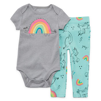 ad81c498a6fe Okie Dokie Baby Girl Clothes 0-24 Months for Baby - JCPenney