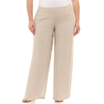 8801acb4db5 Plus Size Pants for Women - JCPenney