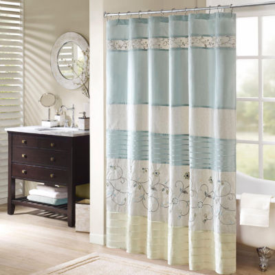 Shower Curtains Blue Bathroom Accessories For Bed Bath Jcpenney Rh Com