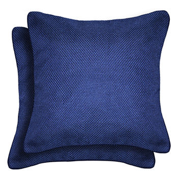 Throw Pillows Blue Decorative Pillows Shams For Bed Bath JCPenney Impressive Decorative Bed Pillows Blue