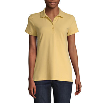 Womens Polo Shirts - JCPenney ad7b93c0e