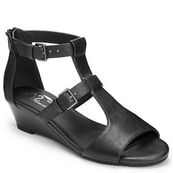 59ec496c65ab A2 by Aerosoles Womens Applause Wedge Sandals