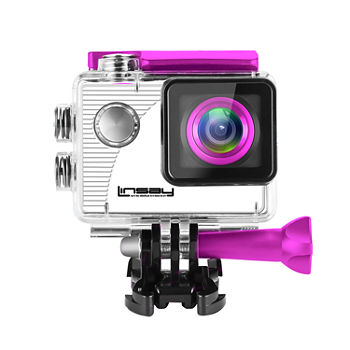 LINSAY® FUNNY KIDS Action Camera Sport Outdoor Activities HD Video and Photos Micro SD Card Slot up to 32GB