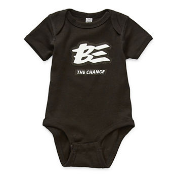 Baby Unisex Crew Neck Short Sleeve Bodysuit