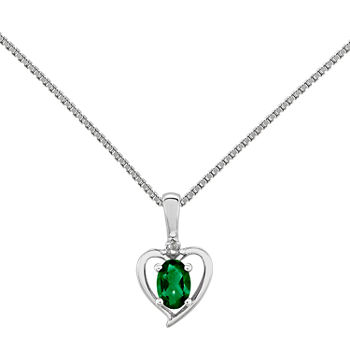 products vintage cttw round necklace gold diamonds diamond setra em fine emerald