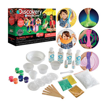 Discovery MindBlown Slimeology 101: 5-in-1 DIY Slime Kit