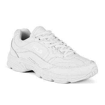 Fila White Mens Athletic Shoes for Shoes - JCPenney