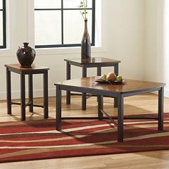 Signature Design by Ashley® Fletcher 3-piece Occasional Table Set