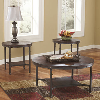 room and main round end side living furniture tables set cocktail table coffee