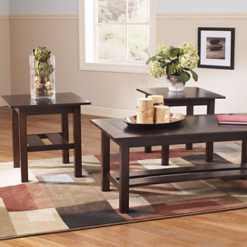 hot two with cherry end living table set coffee room finish tables piece black