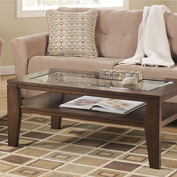 Signature Design By Ashley Coffee Tables Closeouts For Clearance - Ashley larimer coffee table