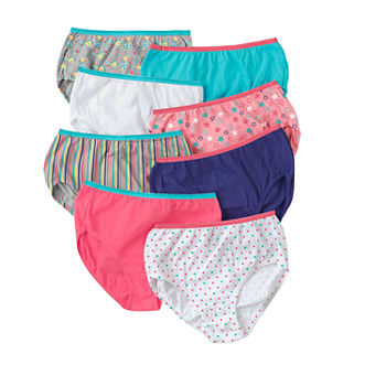 Hanes Little & Big Girls 8 Pack Brief Panty