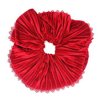 Mixit Red Oversized Scrunchie Hair Ties