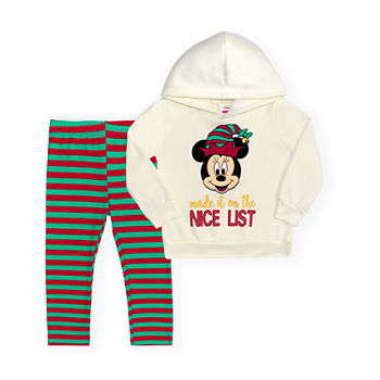 Disney Toddler Girls 2-pc. Minnie Mouse Legging Set