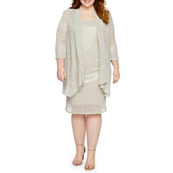 Plus Size Beige Dresses for Women - JCPenney