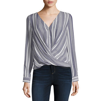 1eafdeefdd7 A.n.a Long Sleeve Tops for Women - JCPenney