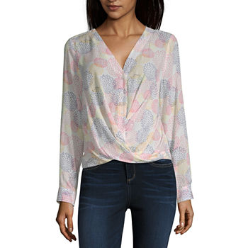 7524a7877425b Beige Tops for Women - JCPenney