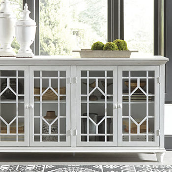 Signature Design by Ashley Dellenbury Accent Cabinet