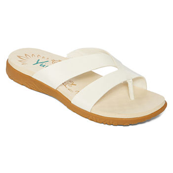 f5ffbbcec67d3 Yuu White Women s Sandals   Flip Flops for Shoes - JCPenney