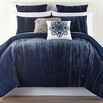 California King Blue Comforters Bedding Sets For Bed Bath Jcpenney