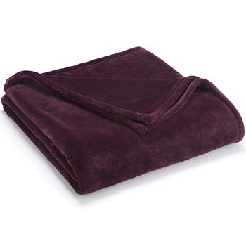 Vellux Blankets Throws Purple