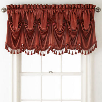 Valances Orange Curtains Drapes For Window