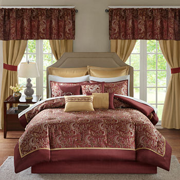 Queen Red Comforters   Bedding Sets for Bed   Bath - JCPenney 2b7cada8f
