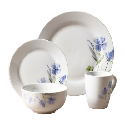 Tabletops Unlimited Decal \u0026 White 16-pc. Dinnerware Set  sc 1 st  JCPenney & Tabletops Unlimited Dinnerware For The Home - JCPenney