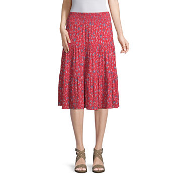 1ca5f04680 Mid Length Skirts for Women - JCPenney