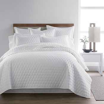 Liz Claiborne Classics Solid 3-pc. Coverlet Set