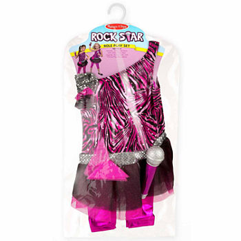 Melissa & Doug Goodie Tutus! Contains 4  Tutus Dress-Up Set Girls Costume