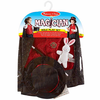 Melissa & Doug Magician Role Play Set Unisex Costume