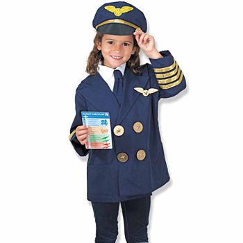 Melissa & Doug Pilot Role Play Set Unisex Costume