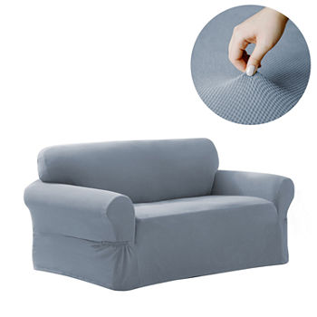 Magnificent Loveseat Slipcovers Blue Slipcovers For The Home Jcpenney Unemploymentrelief Wooden Chair Designs For Living Room Unemploymentrelieforg