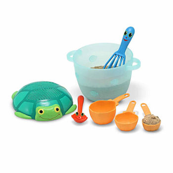 Melissa & Doug® Seaside Sidekicks Sand Baking Set