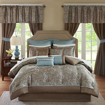 art china cal comforter metallic king set size brown piece full bed sherry bedding gold