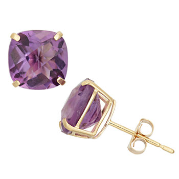 Amethyst Earrings Gemstones Birthstones For Jewelry Watches Jcpenney