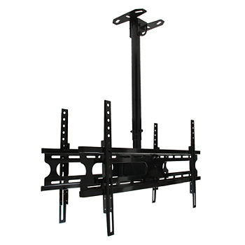 "MegaMounts Tilt and Swivel Ceiling Mount for two 37""- 70""  LCD, LED, and Plasma Screens"