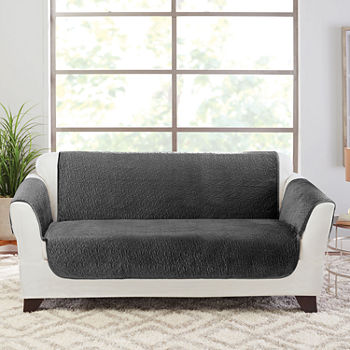 Loveseat Protectors Black Slipcovers For The Home - JCPenney