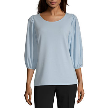 833af064d34a7 Worthington Scoop Neck Tops for Women - JCPenney