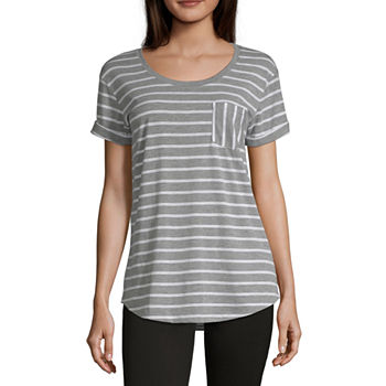 672f3969f75e6b A.n.a White Tops for Women - JCPenney