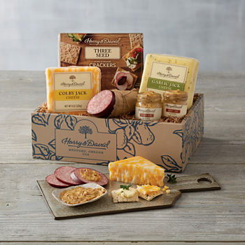 Harry & David Fall Classic Meat N Cheese Gift Set