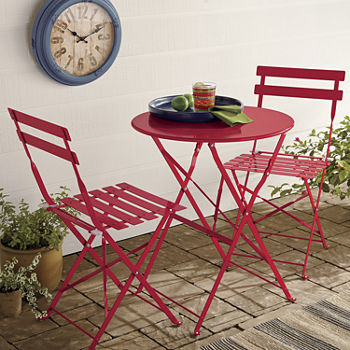 outdoor oasis winston 3-pc. bistro set