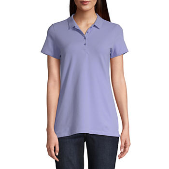 fb80fc5c Polo Shirts Purple Tops for Women - JCPenney