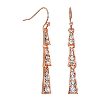 Bijoux Bar Triangle Drop Earrings
