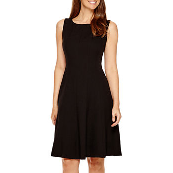 7667444b209 Fit   Flare Dresses Black Church Dresses for Women - JCPenney