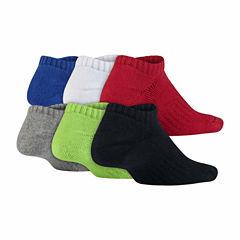 Nike Boys 6-pk. No Show Socks-Big Kid